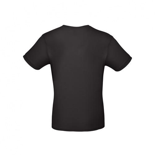 Budget t-shirt zwart achterkant