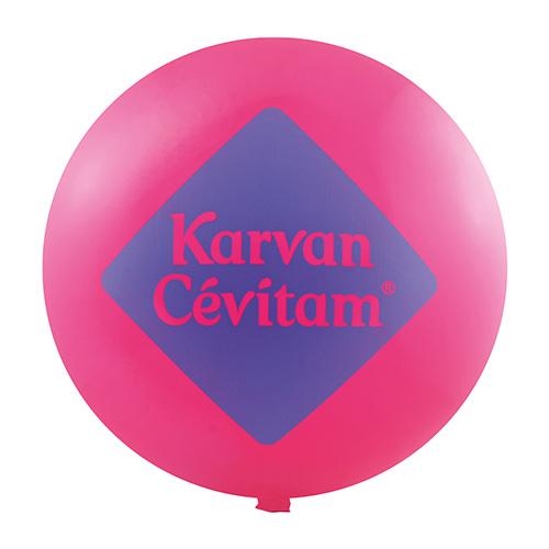 Grote ballonnen roze