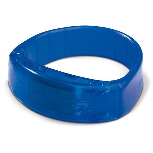 Knipperend LED armbandje blauw