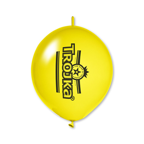 Linkballon met logo