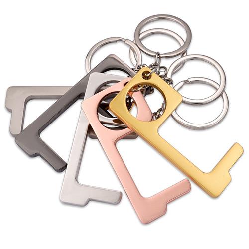 Metalen no touch key