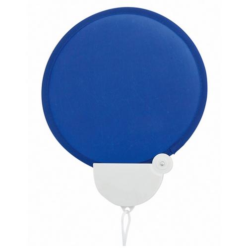 Opvouwbare waaiers bedrukken blauw