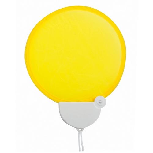 Opvouwbare waaiers bedrukken geel