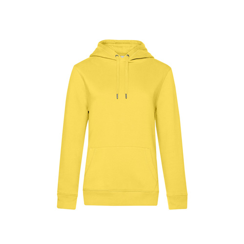 Premium hoodie dames geel