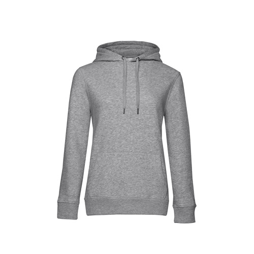 Premium hoodie dames grijs