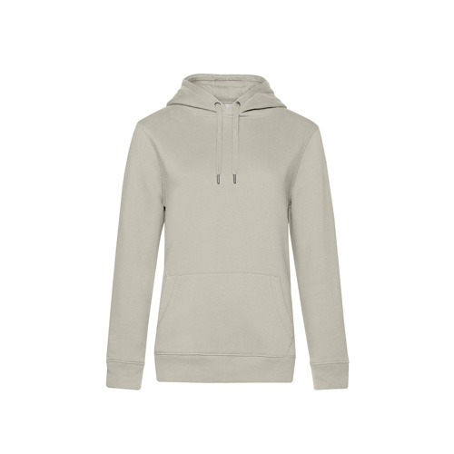 Premium hoodie dames lichgrijs