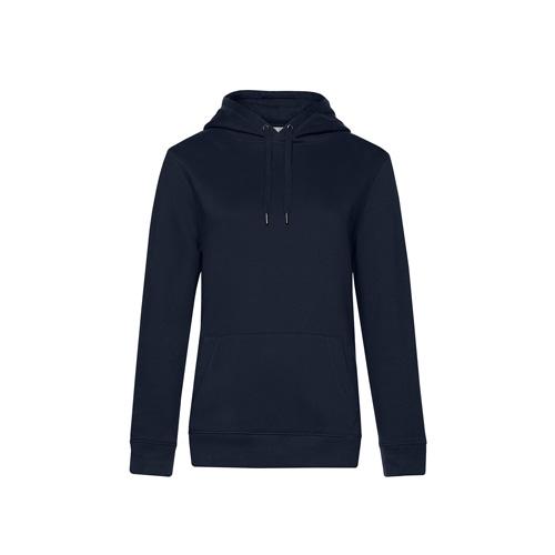 Premium hoodie dames navy blauw