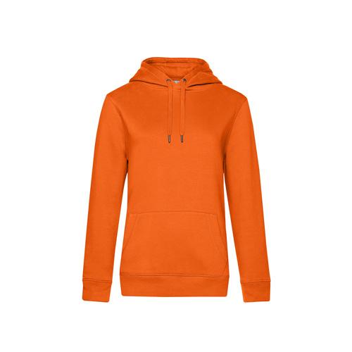 Premium hoodie dames oranje