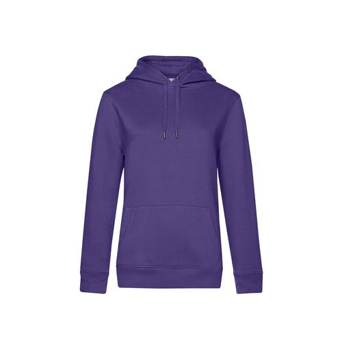 Premium hoodie dames paars