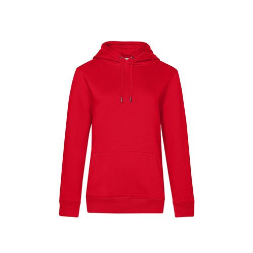 Premium hoodie dames rood