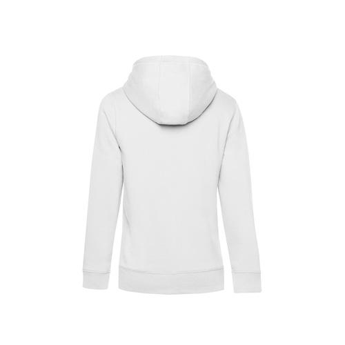 Premium hoodie dames wit achterkant