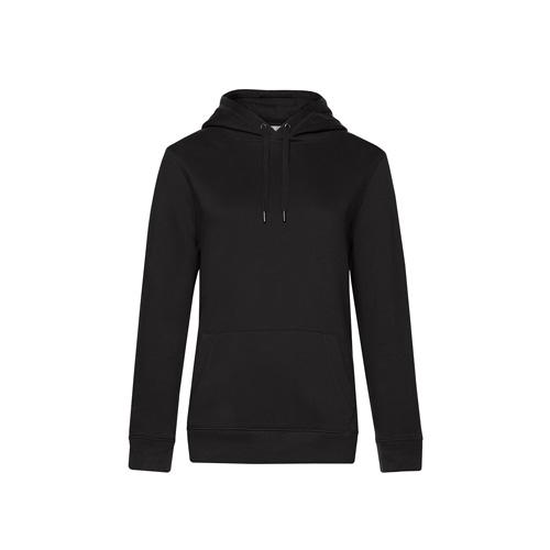 Premium hoodie dames zwart