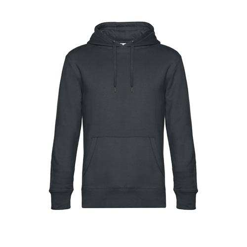 Premium hoodie unisex donkergrijs