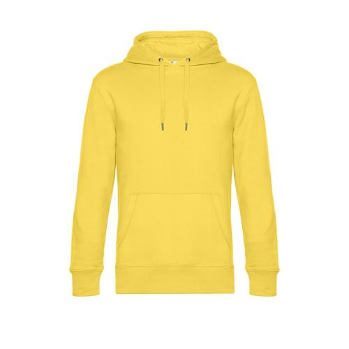 Premium hoodie unisex geel