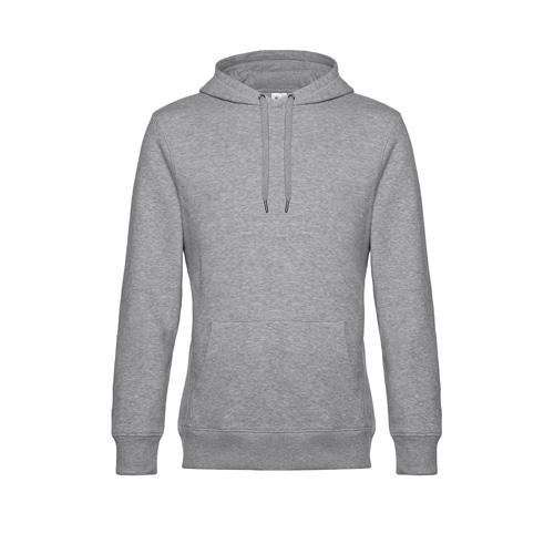 Premium hoodie unisex grijs