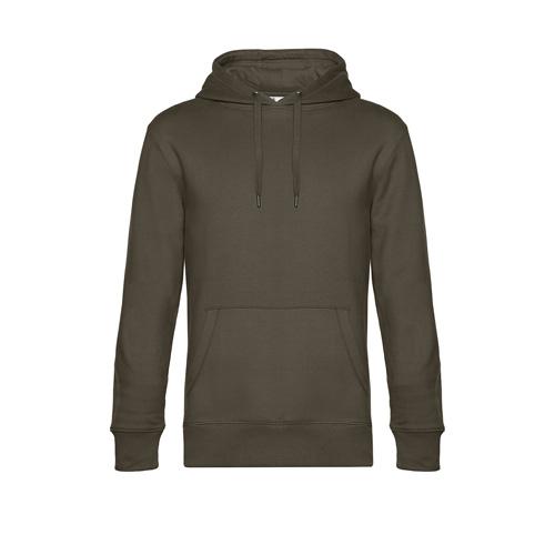Premium hoodie unisex legergroen