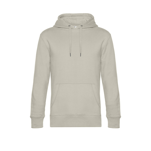 Premium hoodie unisex lichtgrijs