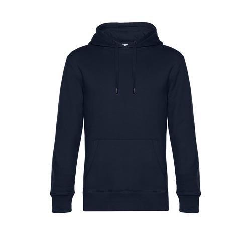 Premium hoodie unisex navy blauw