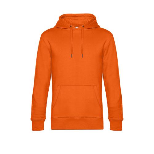 Premium hoodie unisex oranje
