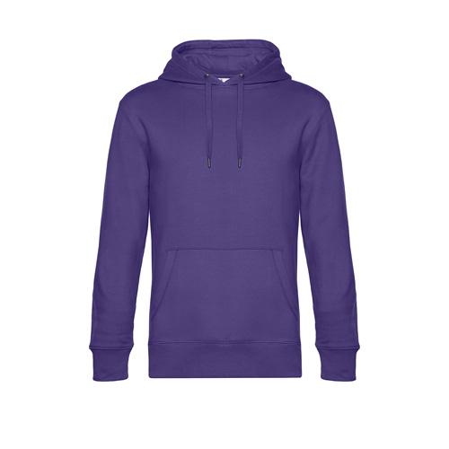 Premium hoodie unisex paars