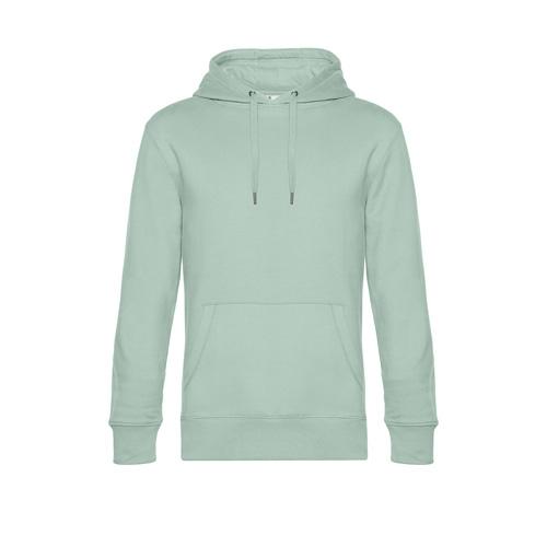 Premium hoodie unisex pastel groen