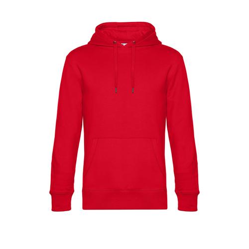 Premium hoodie unisex rood