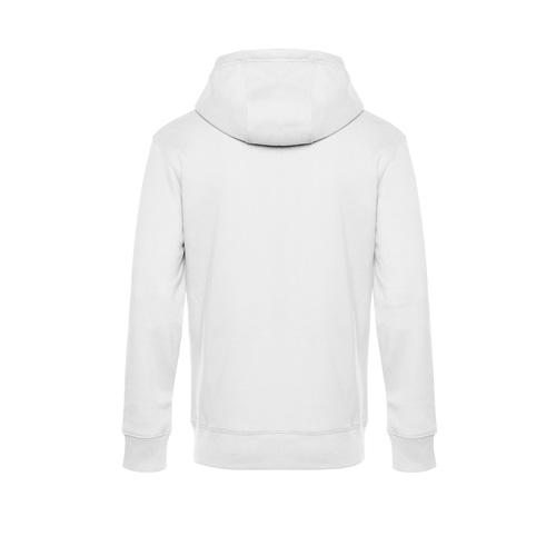 Premium hoodie unisex wit achterkant