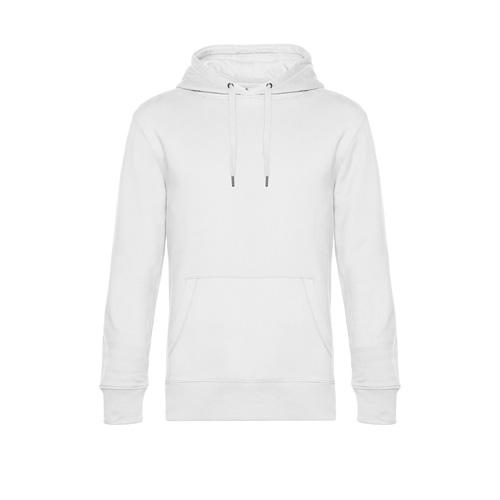 Premium hoodie unisex wit