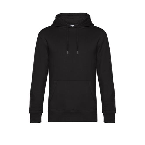 Premium hoodie unisex zwart