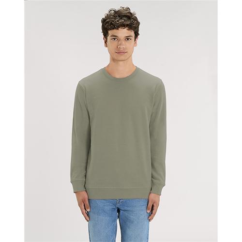 Premium sweater biologisch bedrukken