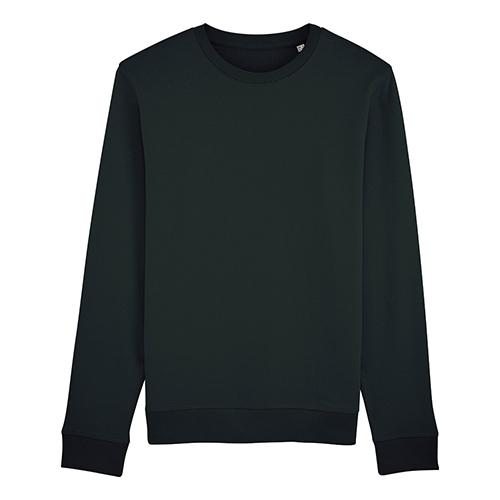 Premium sweater biologisch zwart