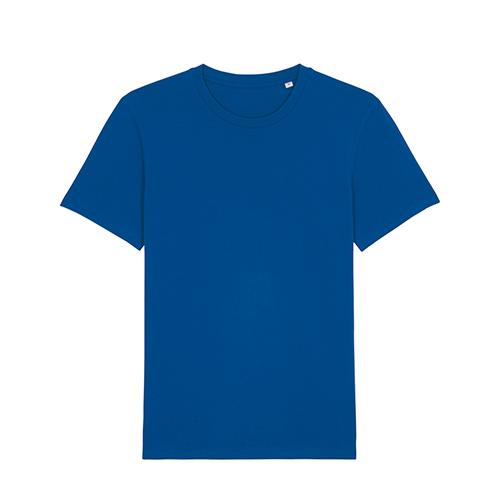 Premium t-shirt biologisch blauw