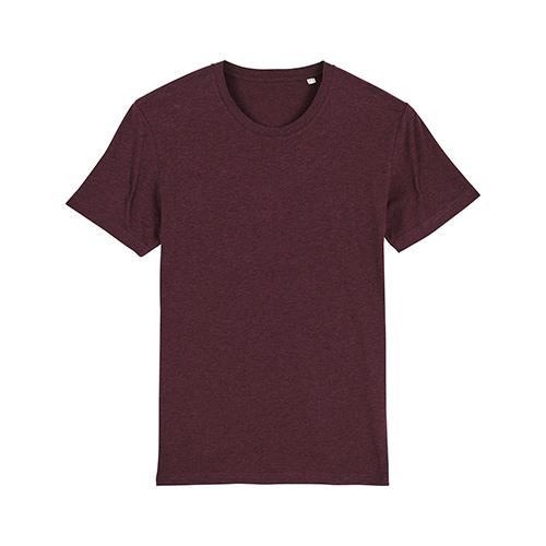 Premium t-shirt biologisch bordeaux rood