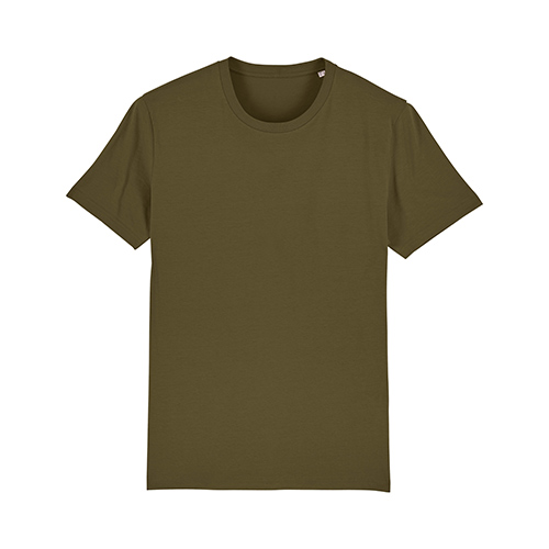 Premium t-shirt biologisch donkergroen