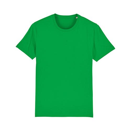 Premium t-shirt biologisch fel groen