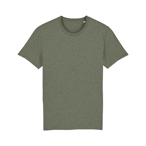 Premium t-shirt biologisch legergroen