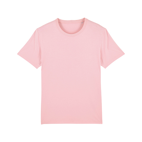 Premium t-shirt biologisch lichtroze
