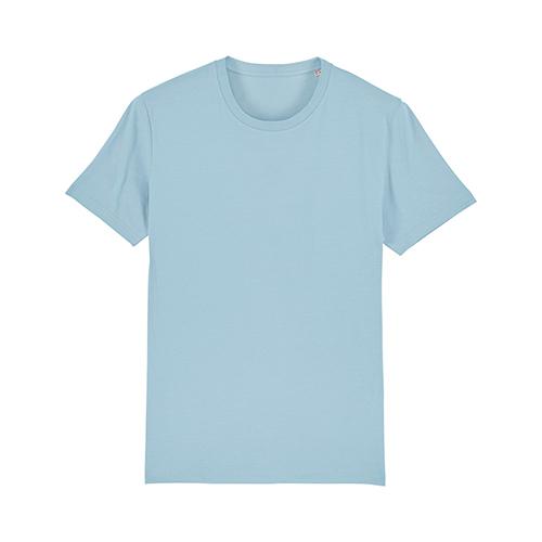 Premium t-shirt biologisch pastel blauw