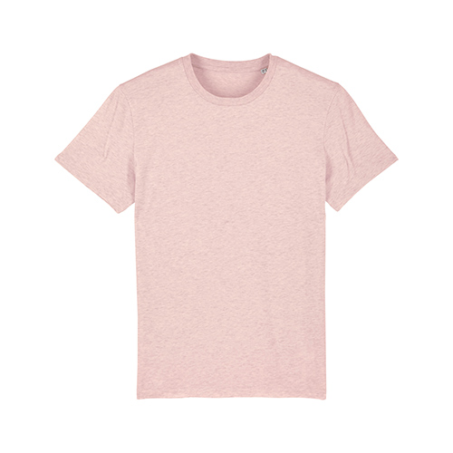 Premium t-shirt biologisch pastel roze