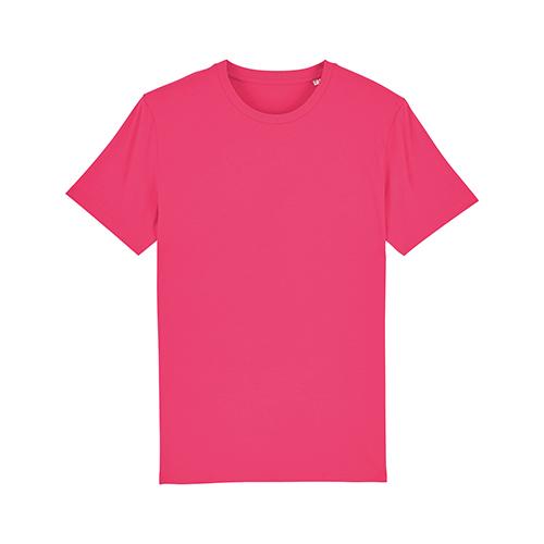 Premium-t-shirt biologisch roze