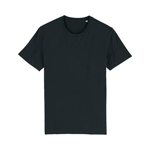 Premium t-shirt biologisch zwart