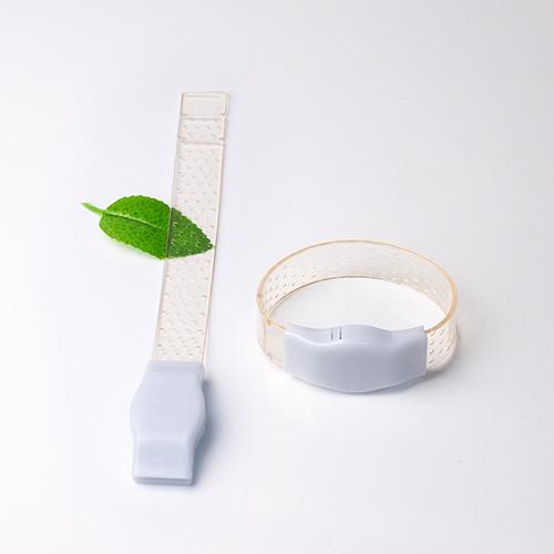 Sound activated transparante led armbandjes