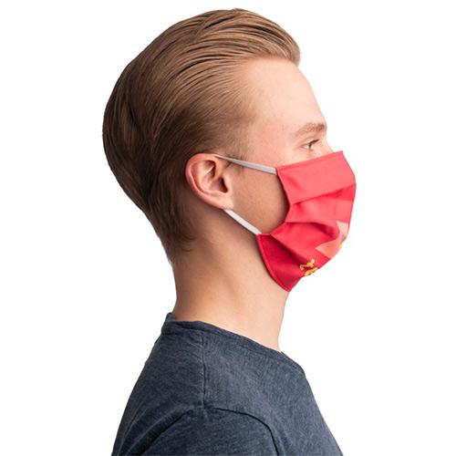 Sublimatie mondkapje elastiek zijkant
