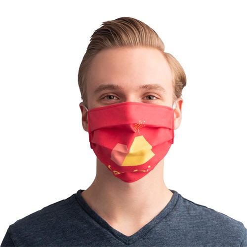 Sublimatie mondkapje met elastiek