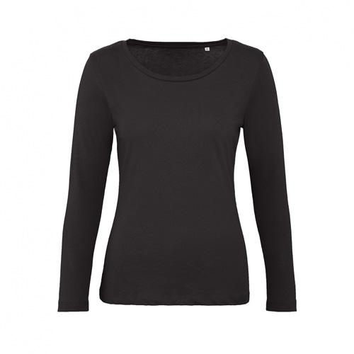 T-shirt longsleeve dames zwart