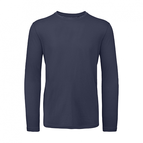 T-shirt longsleeve donkerblauw