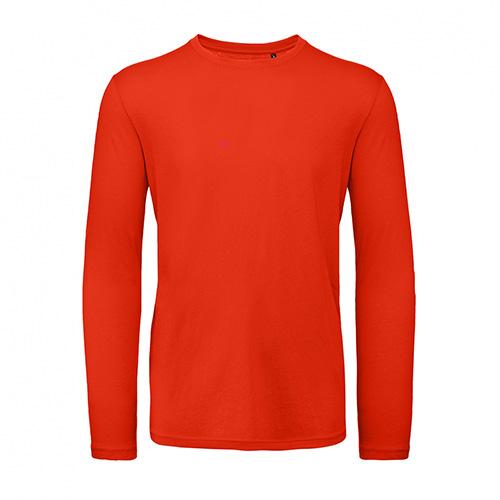 T-shirt longsleeve rood