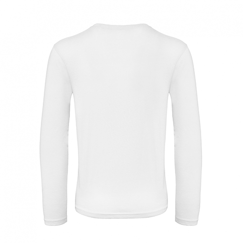 T-shirt longsleeve wit achterkant