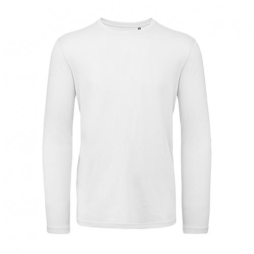 T-shirt longsleeve wit