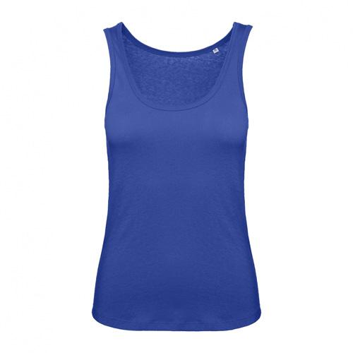 Tanktop hemd dames blauw